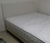 논현동 퀸 침대 매트리스 습식케어 청소